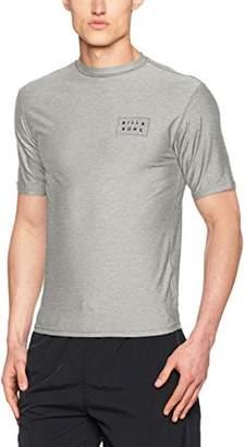 Billabong Men's Die Cut Ss T - Shirt, Grey Heather 9