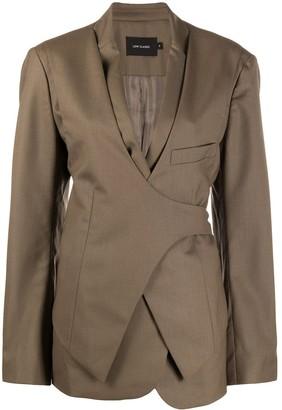 Low Classic Wrap Detail Blazer Jacket