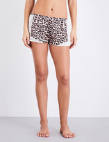 Fleur Du Mal Charlotte silk-satin shorts