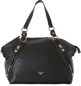 Dune Donald Large Slouch Shoulder Bag, Black