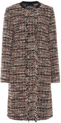 Etro Tweed wool-blend coat