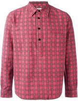 Visvim checked print shirt