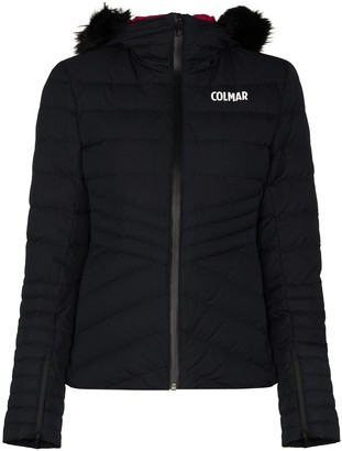 Colmar Logo-Print Hooded Puffer Jacket