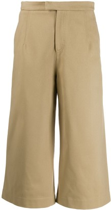 Jejia Cropped Wide Leg Trousers