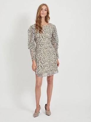 Vila Dotted Mini Dress - 36