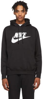 Nike Black Fleece Sportswear Club Hoodie