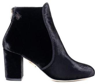 Charlotte Olympia Alba Velvet Ankle Boot