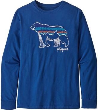 Patagonia Graphic Organic Long-Sleeve T-Shirt - Boys'