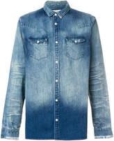AllSaints gradient denim shirt