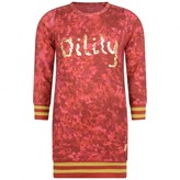 Oilily OililyGirls Red Timone Jersey Dress