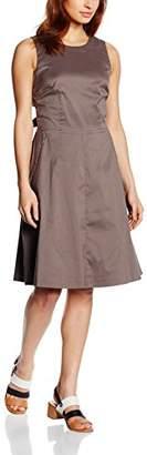 Esprit Women's A-Line Sleeveless Dress - Brown - 8