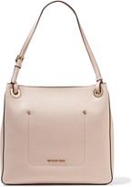 MICHAEL Michael Kors Walsh Textured-leather Tote - Pastel pink