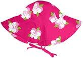 I Play Brim Sun Hat (Baby/Toddler)-Fuchsia-2-4 Years