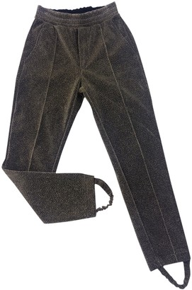 Golden Goose Gold Trousers for Women