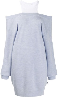 Alexander Wang Knitted Jumper Dress