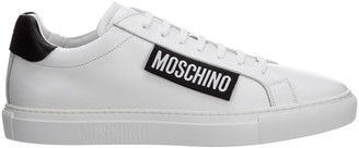 Moschino Logo Tag Low-Top Sneakers