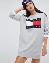 Tommy Jeans Logo Sweat Dress