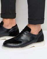 Zign Leather Suede Mix Oxford Shoes