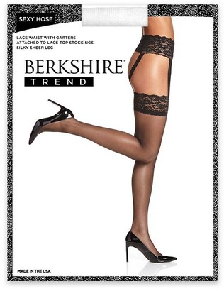 Berkshire Sexy Hose Lace Waist Garter Stockings