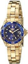 Invicta Women's 17036 Pro Diver Analog Display Japanese Quartz Gold Watch