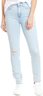 Seven For All Mankind 7 For All Mankind Light Wash High-Rise Skinny Leg Jean
