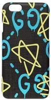 Gucci GG Writers Graffiti iPhone 6/6s Case, Black/Multi