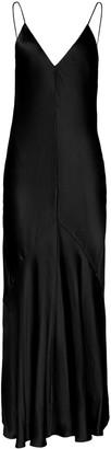 Studio Amelia Liquid Bias-Cut Satin Slip Dress