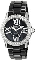 Stuhrling Original Women's 911.01 Leisure Thalia Analog Display Quartz Black Watch