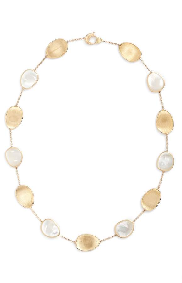 Marco Bicego Lunaria Mother of Pearl Collar Necklace