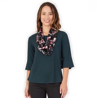 Apt. 9 Women's Hachi Juliet Sleeve Top