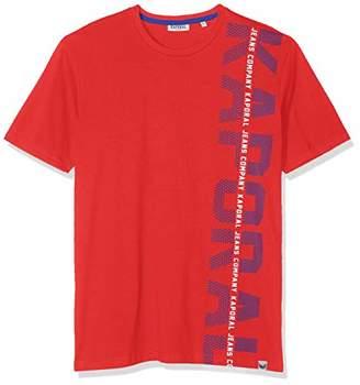 Kaporal Men's OLARK T-Shirt, Red M11 French, M