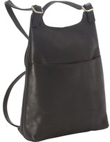 Royce Leather Women's Vaquetta Leather Sling Backpack