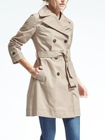 Banana Republic Belted Mac Trench