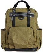 TWELVElittle Unisex Courage Backpack Diaper Bag in Olive
