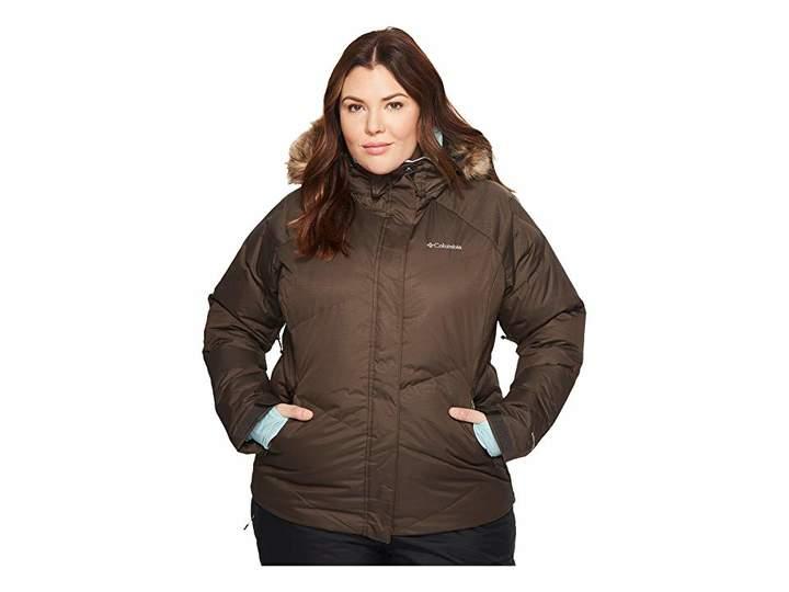 Columbia Plus Size Lay D Downtm Jacket Women's Coat