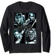 Marvel Black Panther Movie Grunge Warriors Long Sleeve