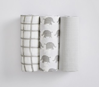 Pottery Barn Kids Organic Muslin Taylor Swaddle Set