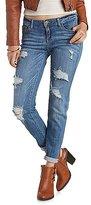 Charlotte Russe Sneak Peek Distressed Skinny Boyfriend Jeans
