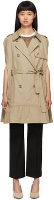 RED Valentino Beige Trench Cape