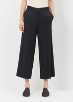 Jil Sander black c-baldo cropped trouser