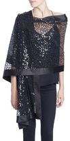 Harrison Morgan Sheer Embellished Stole