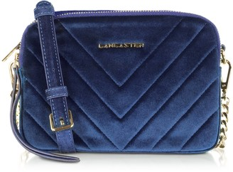 Velvet Couture Lancaster Paris Quilted Camera Bag