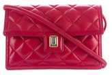 Judith Leiber Quilted Leather Crossbody Bag