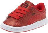 Puma Basket Holiday Glitz Kids' Sneakers