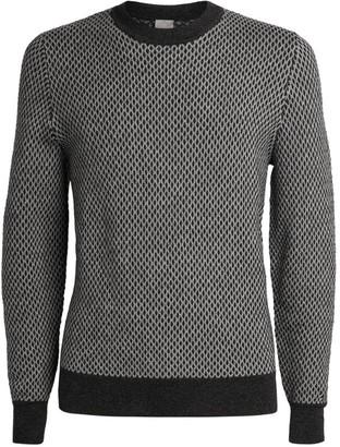 Pal Zileri Textured Wool-Blend Sweater