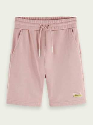 Scotch & Soda Unisex organic cotton sweat shorts | Girls