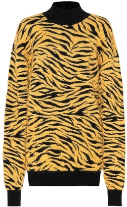 Kwaidan Editions Tiger-jacquard sweater