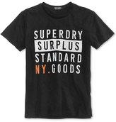 Superdry Men's Surplus Goods Graphic-Print Logo Cotton T-Shirt