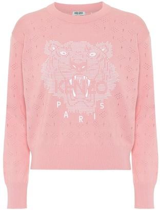 Kenzo Logo cotton sweater