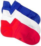 Hue Women's 3-Pk. Air Sleek Tab Cushioned Liner Socks